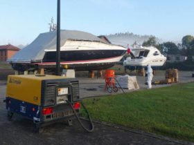 sabbiatura settore nautico